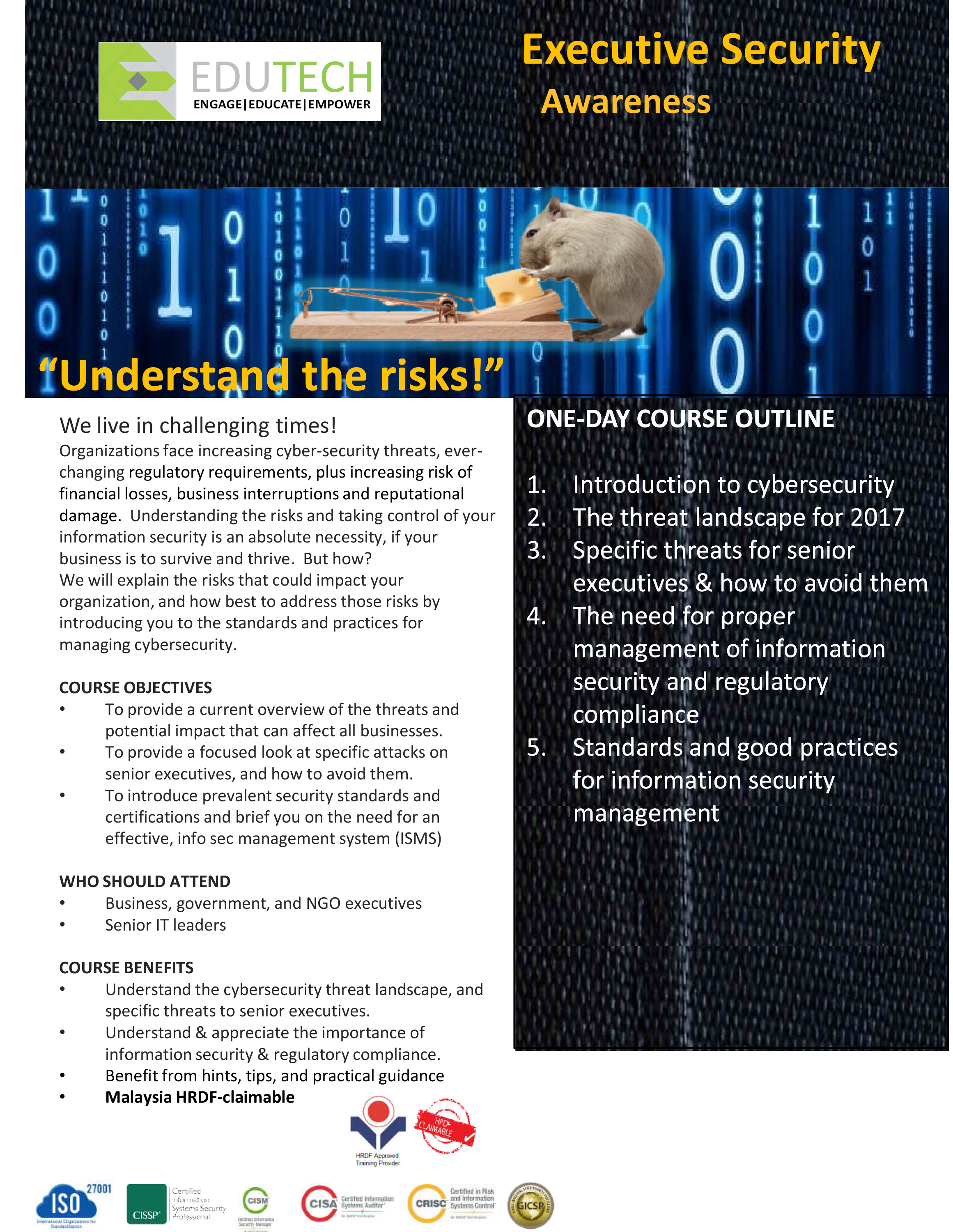 Cyber Security Awareness for Executives