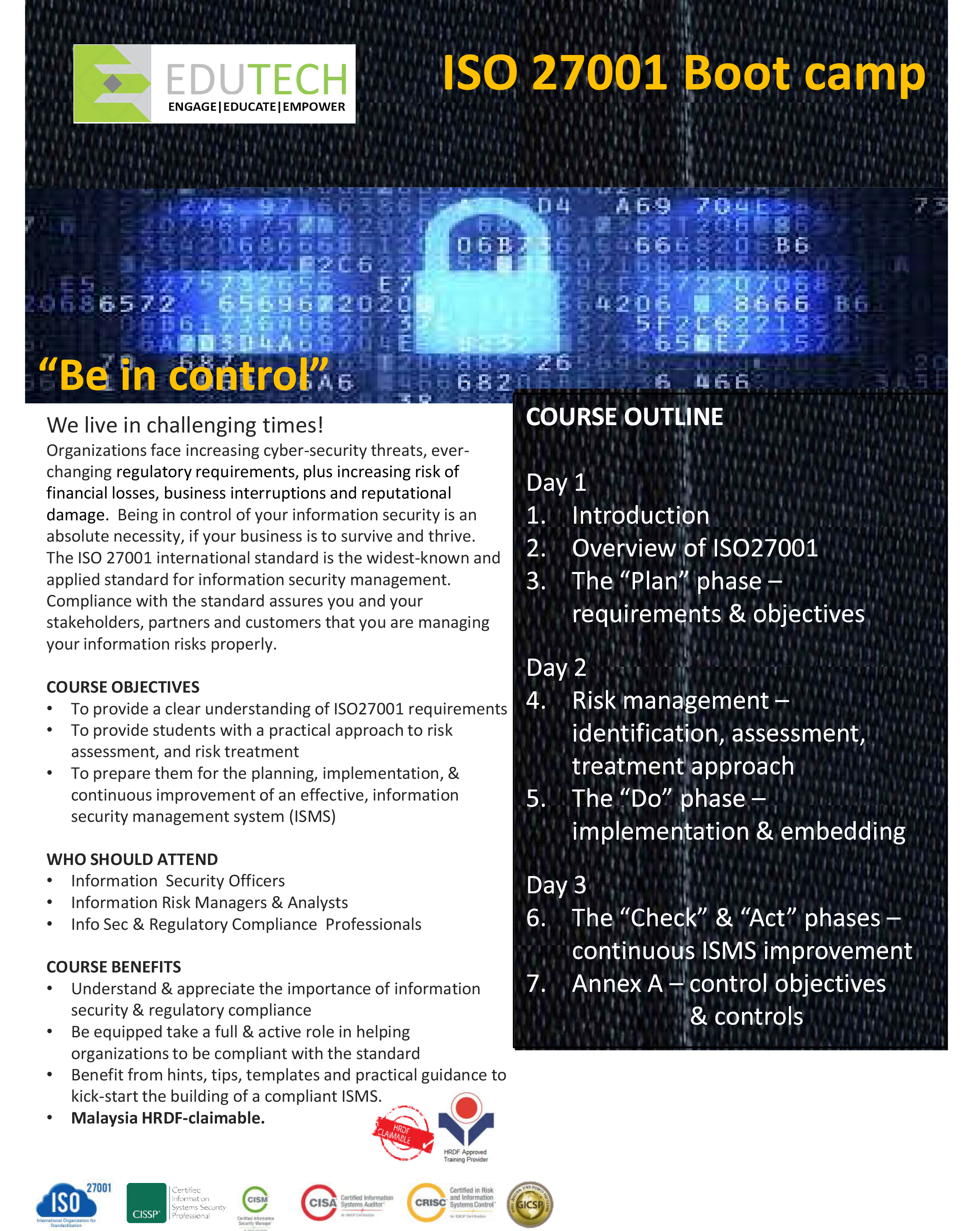 ISO 27001 Bootcamp