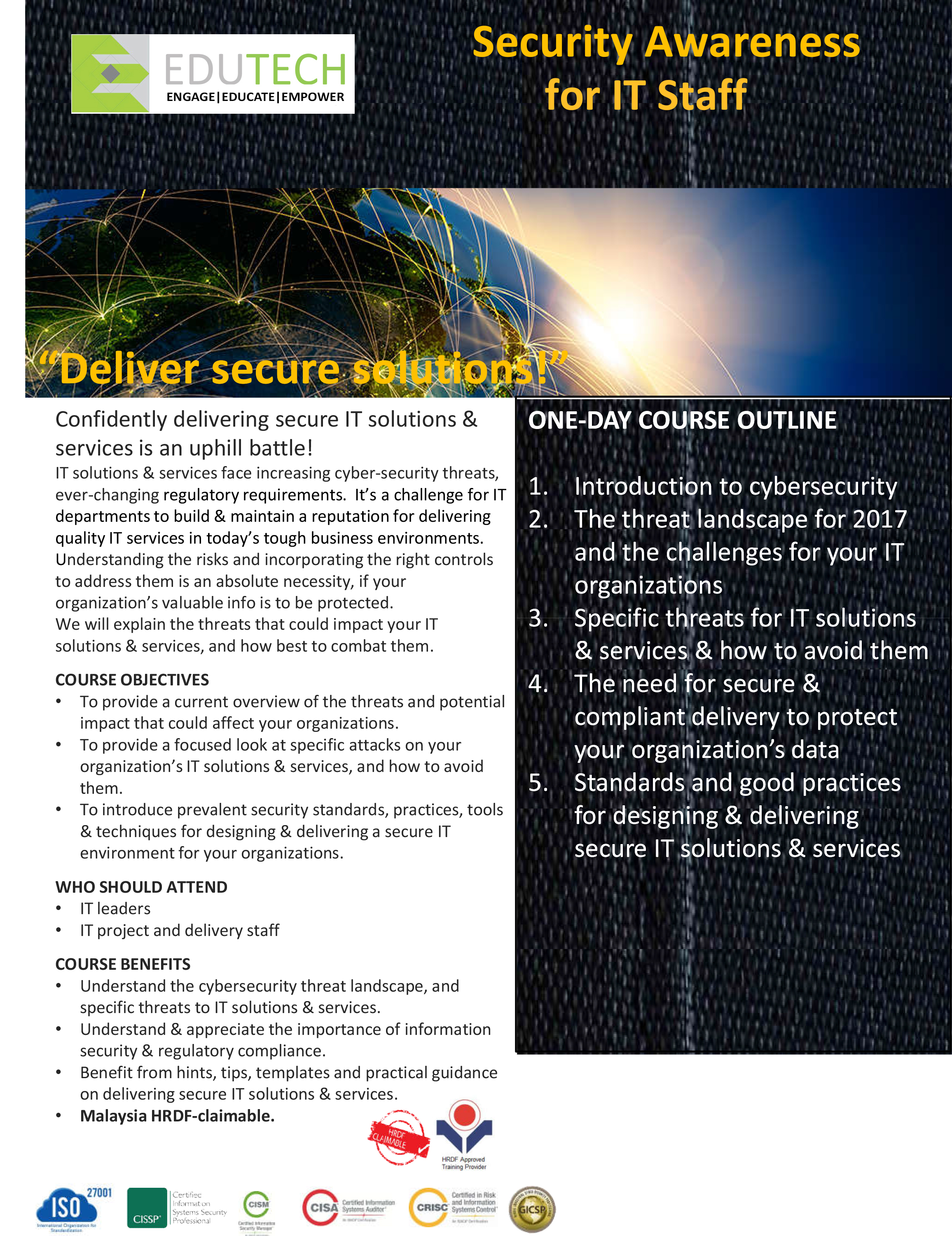 Security Awareness for IT Professionals
